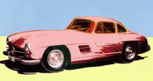 Warhol Porsche